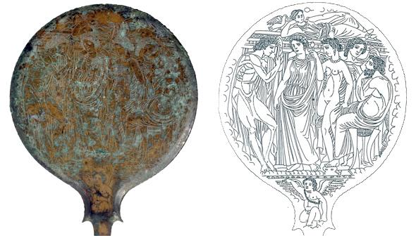 Etruskische spiegel