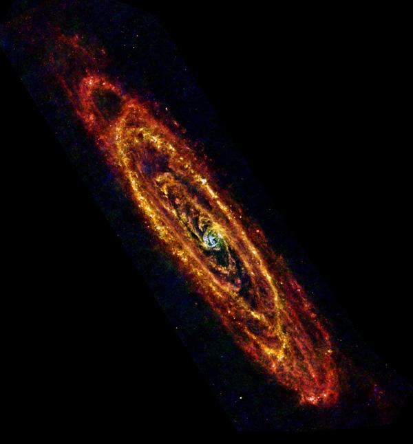 Foto: ESA / Herschel / PACS & SPIRE Consortium, O. Krause, HSC, H. Linz