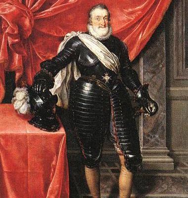 Hendrik IV. Afbeelding: via Wikimedia Commons.