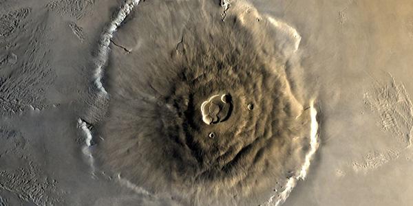 Olympus Mons. Foto: NASA.