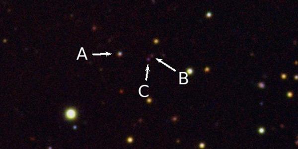 drievoudige quasar