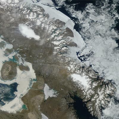 Canadese ijskappen