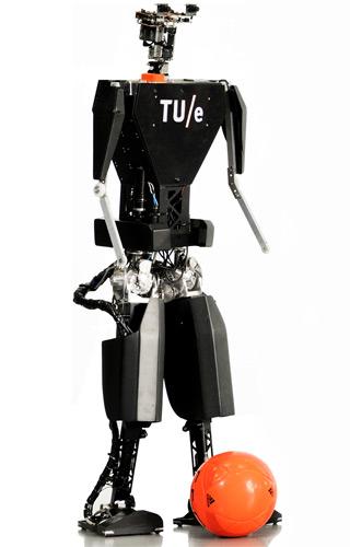 TUlip: een 125 centimeter hoge en 25 kilo zware robot.