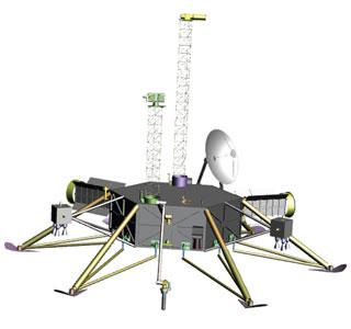Zo zou de Europa-lander er ongeveer uit kunnen zien. Afbeelding: Europa Study Team.