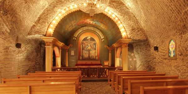 Een kapel in de zoutmijn. Afbeelding: Google Streetview.