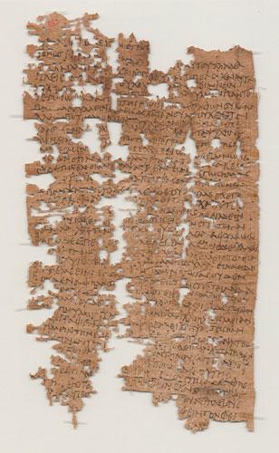 De brief. Afbeelding: Rice University.