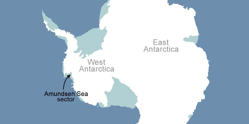 De pijl wijst het gebied aan waar de onderzoekers in hun paper over spreken. Afbeelding: NASA.