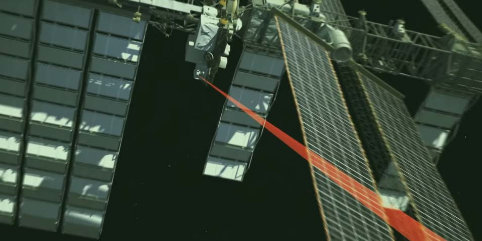 iss-laser