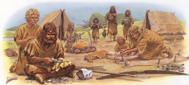 Jager-verzamelaars leefden in geïsoleerde groepen van dertig tot zestig man. Epidemieën konden geen grip op ons krijgen.