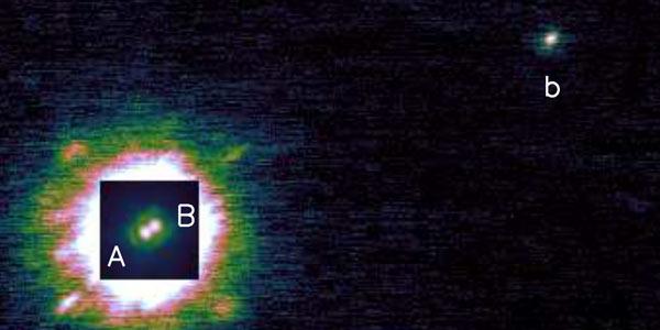 Piepjonge exoplaneten direct gefotografeerd.