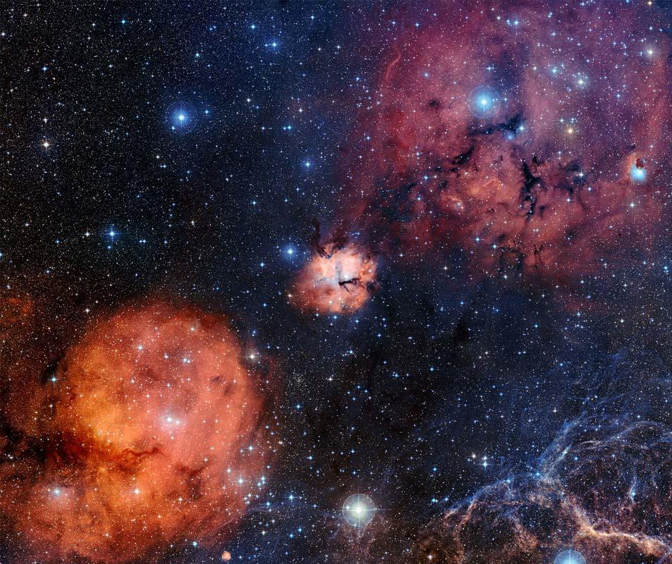 Gum 15 en omgeving. Afbeelding: ESO.