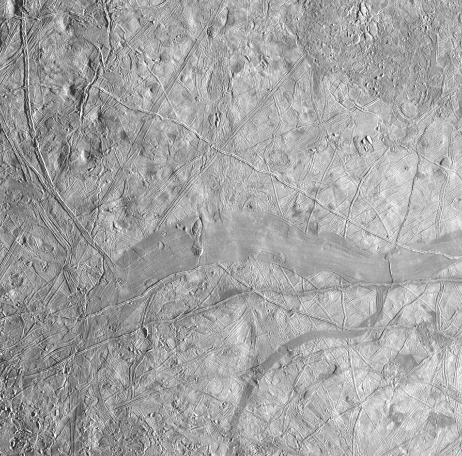 In zwart en wit. Afbeelding: NASA / JPL.