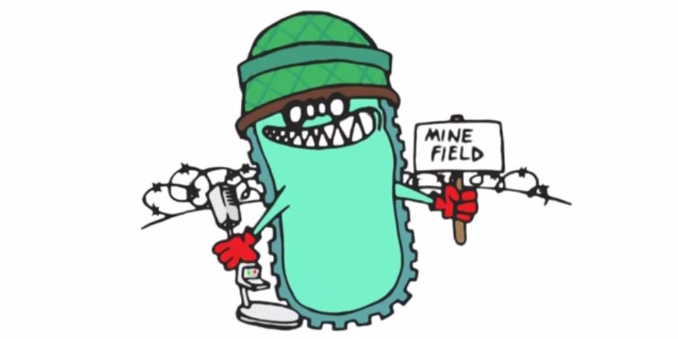 landmijn