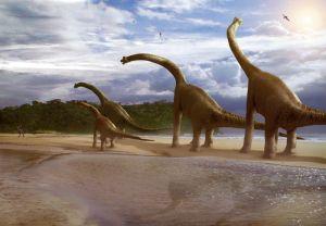 De Brachiosaurus is één van de bekendste saurapode, maar woog veel minder dan de Drach