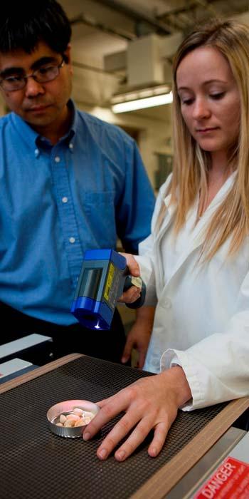 De onderzoekers aan het werk. Afbeelding: UF / IFAS.
