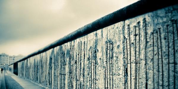 De Berlijnse Muur. Foto gemaakt door Mike via Flickr.