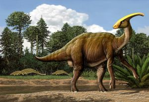 De parasaurolophus