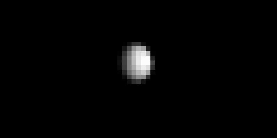 Ceres op de foto van Dawn. Afbeelding: NASA / JPL-Caltech / UCLA / MPS / DLR / IDA.