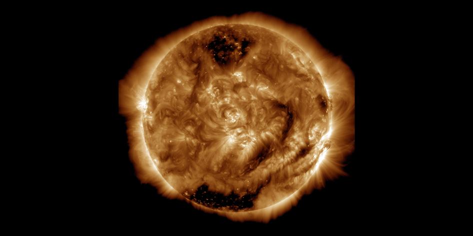 Een mijlpaal: dit is de honderd miljoenste foto van het Solar Dynamics observatorium.