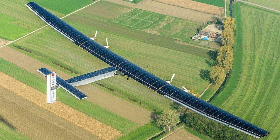 Solar Impulse 2 boven Zwitserland. Afbeelding: Solar Impulse.