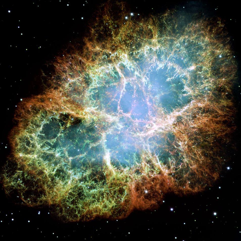 Afbeelding: NASA / ESA / Allison Loll / Jeff Hester (Arizona State University) / Davide De Martin (ESA/Hubble).
