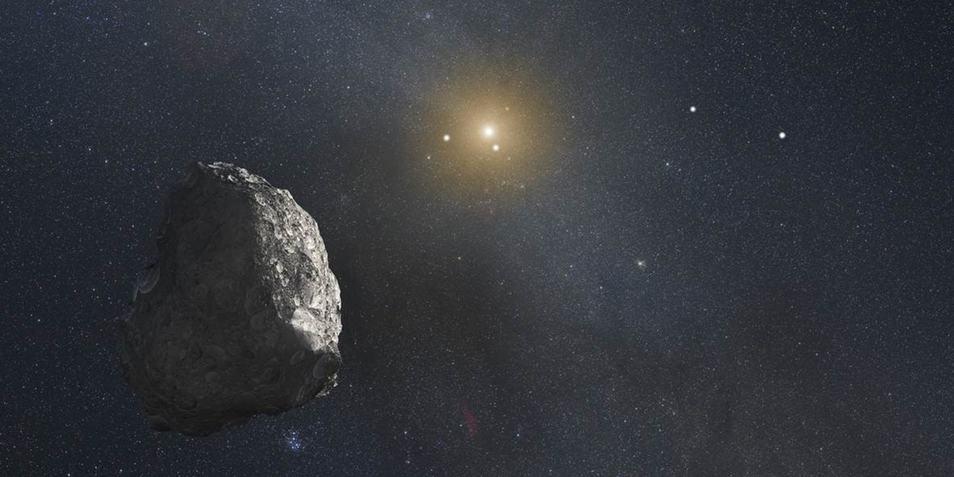 Een artistieke impressie van een Kuipergordelobject. Afbeelding: NASA.