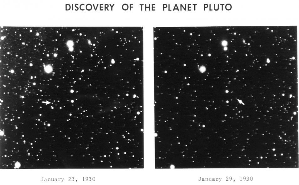 pluto-ontdekking