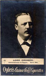 Lord Cromer, de eerste consul-generaal van Egypte. Bron: Wikimedia Commons