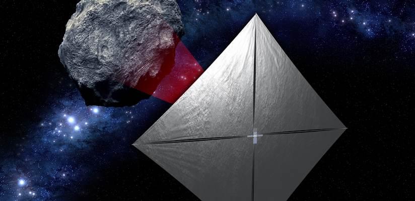 NEA Scout. Afbeelding: NASA.