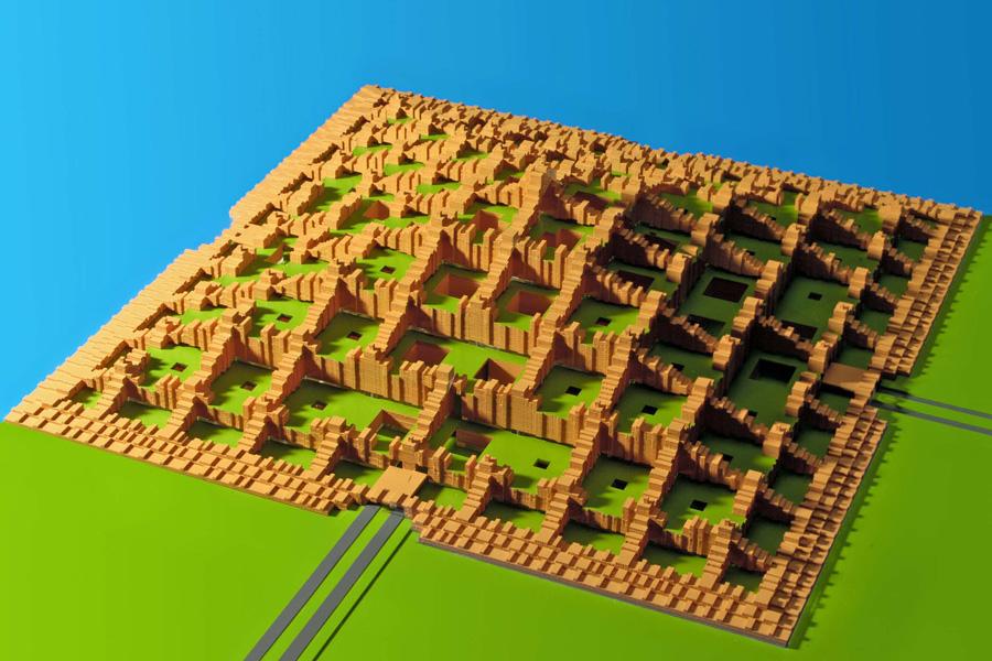 De piramidestad