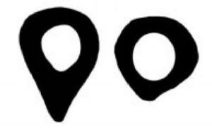 Links: een doorsnede van een bot van de heup uit het Paleolithicum. Rechts: een doorsnede van een bot van de heup uit de vroege middeleeuwen. De twee doorsnedes laten een verschil zien in de vorm en sterkte van het bot in de heupen. Bron: www.sciencedaily.com