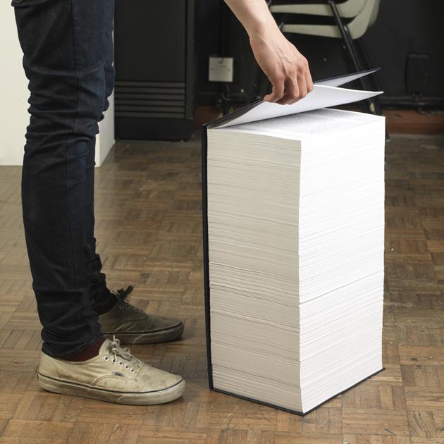 Dit boek bevat minder dan 0,01% van alle informatie op de Engelstalige versie van Wikipedia.
