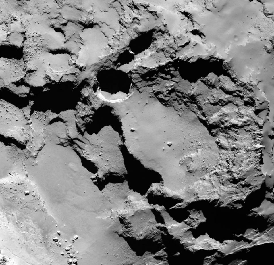 Nog een zinkgat op komeet 67P.