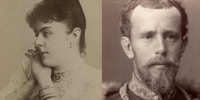 Marie en Rudolf. Afbeeldingen: ONB.