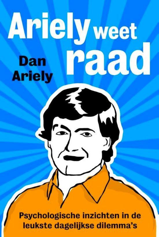 Het boek 'Ariely weet raad'.