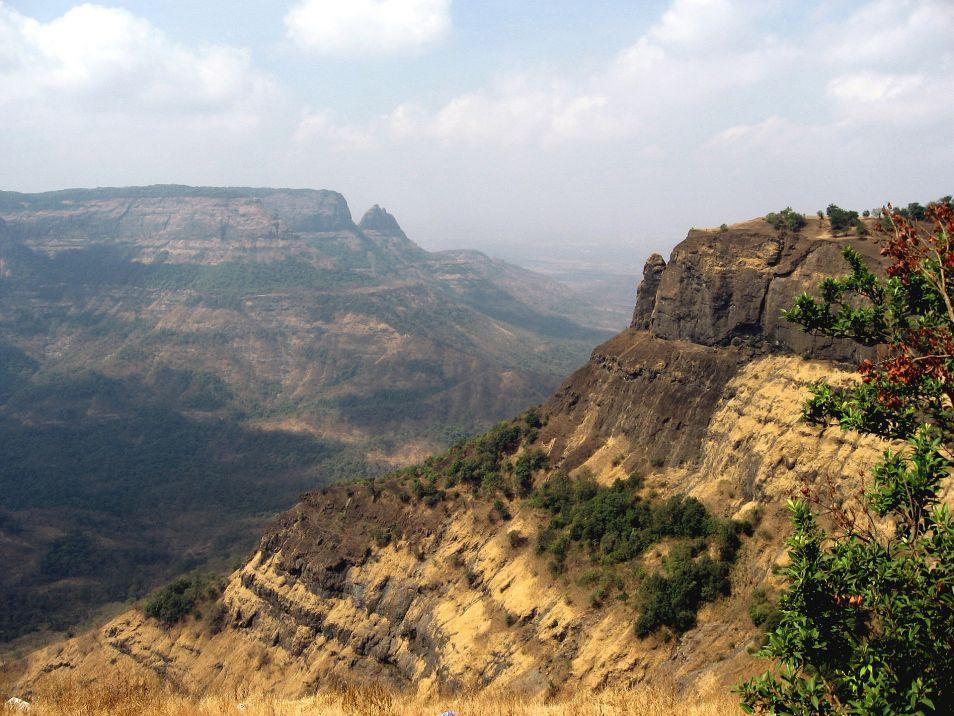 De Deccan Traps. Afbeelding: Nicholas (via Wikimedia Commons).