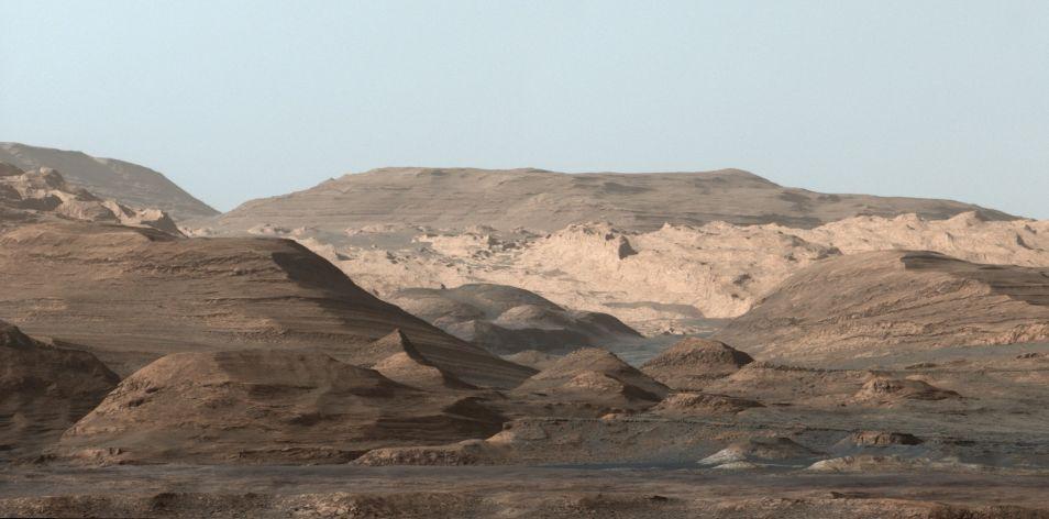 Even inzoomen op het 'kaartje' van Curiosity? Klik voor een vergroting. Afbeelding: NASA / JPL-Caltech / MSSS.
