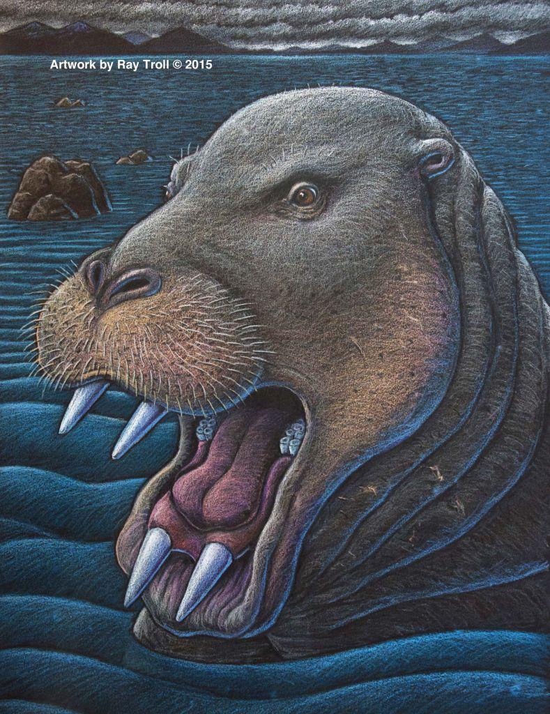 De nieuw ontdekte soort. Afbeelding: Ray Troll.