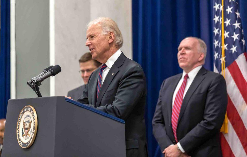 Joe Biden, de huidige vicepresident.