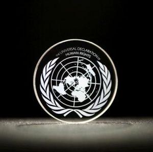 Universele Verklaring van de Rechten van de Mens opgeslagen in 5D. Credits: University of Southampton