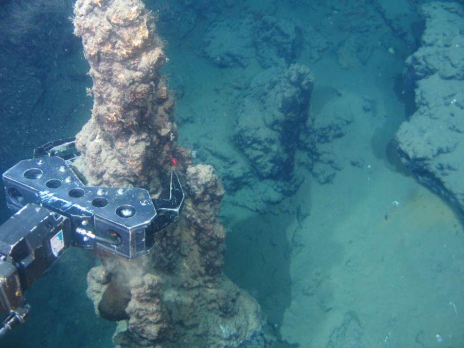 Grondstoffen delven in zee. Dat ziet er zo uit. Afbeelding: Nautilus Minerals.