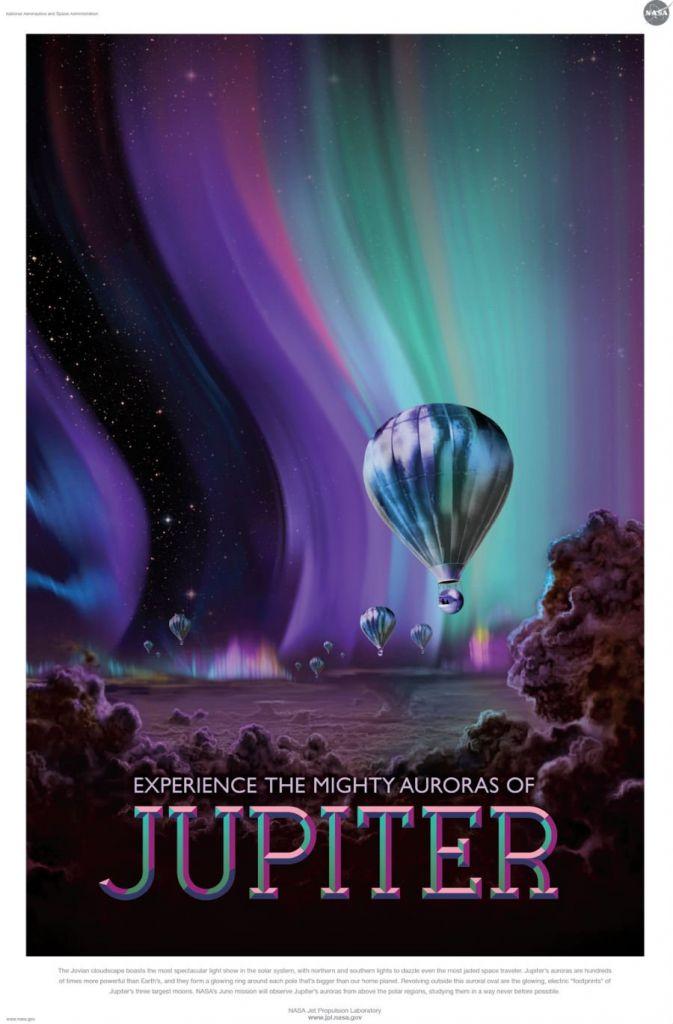 En? Al zin in een ballonvaart boven Jupiter? Afbeelding: NASA / JPL.