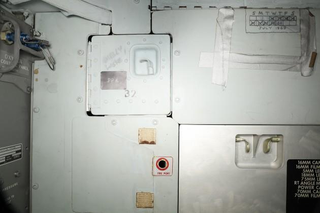 De kalender. Afbeelding: National Air and Space Museum / Smithsonian's 3D Digitization Program.