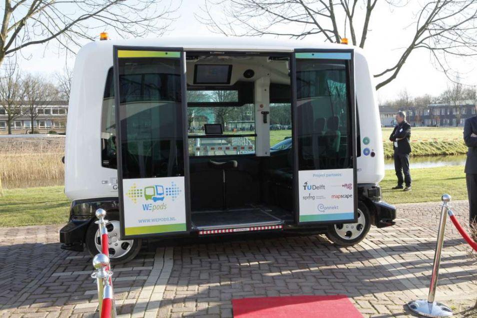 De Wepod zal dit jaar nog tussen station Ede-Wageningen en de WUR gaan rijden.