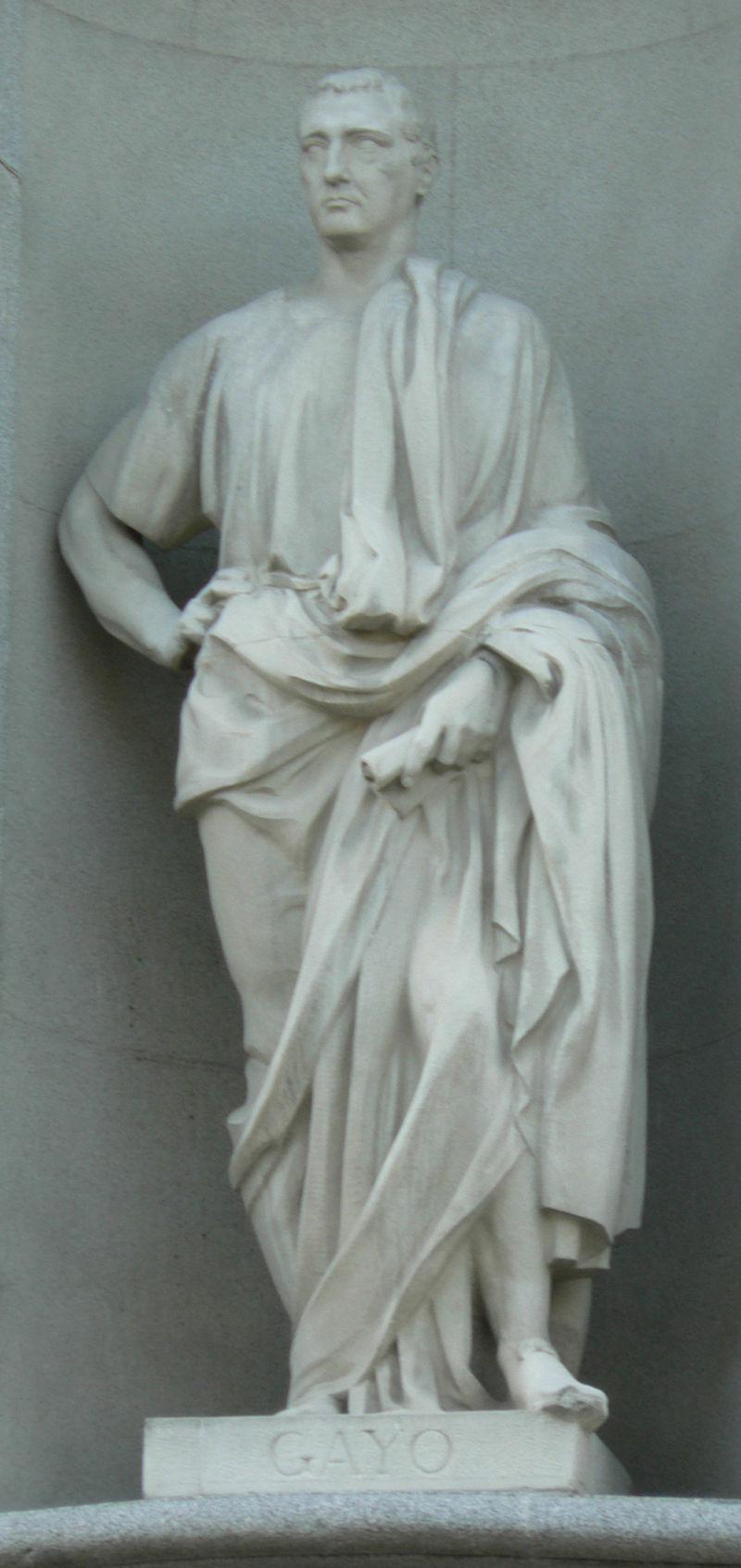 Gaius. Afbeelding: Basilio (via Wikimedia Commons).