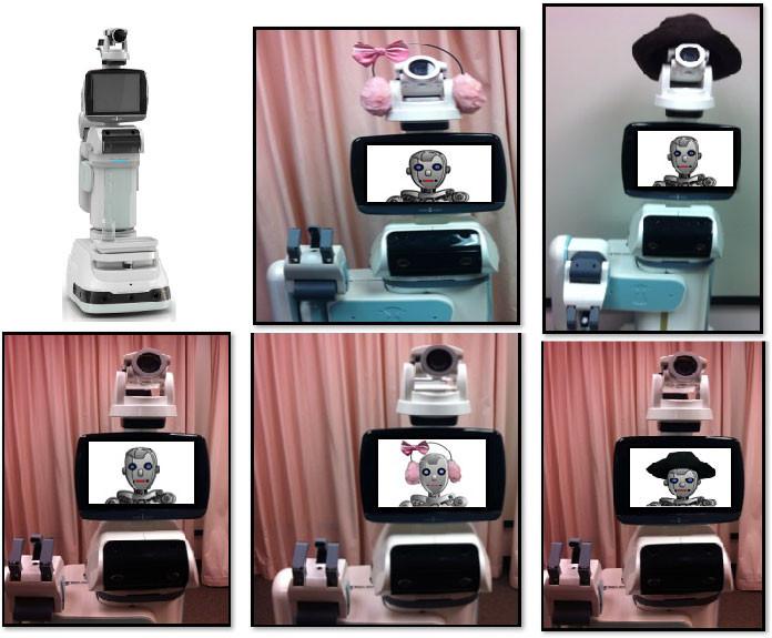 De robots die de proefpersonen te zien kregen. Afbeelding: Penn State.