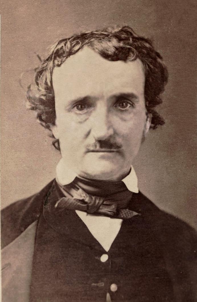 Edgar Allan Poe: een beroemde schrijver die onder meer over piraten schreef.