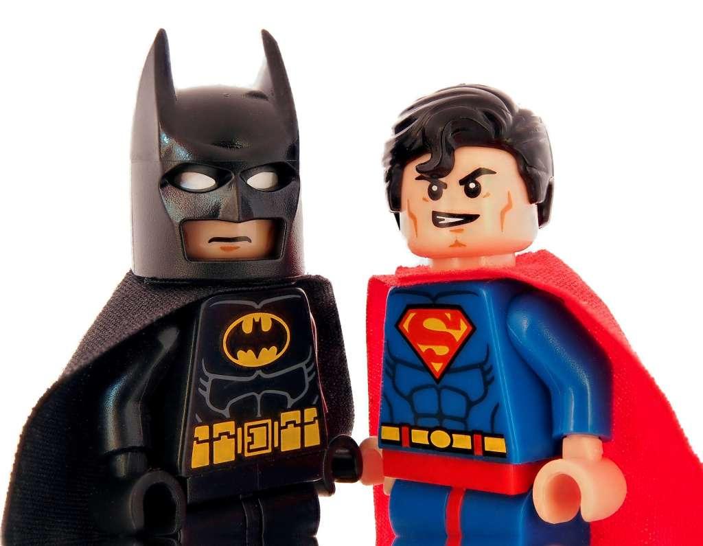 Als Batman het opneemt tegen Superman, is Batman kansloos.