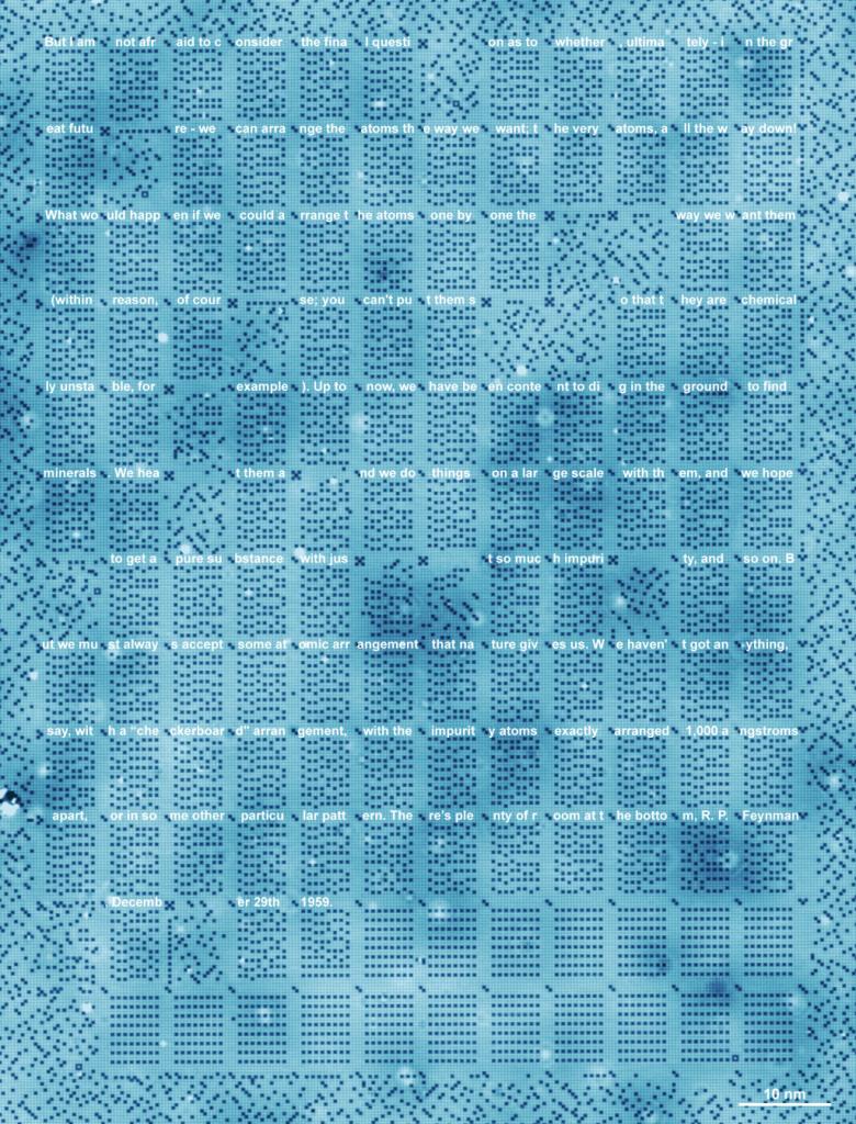 De onderzoekers organiseerden het geheugen in blokken van acht bij acht bytes.