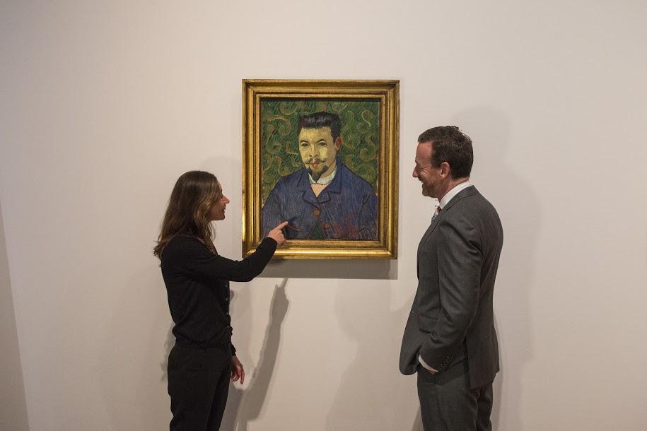 Het portret dat Van Gogh van en voor Félix Rey maakte. Afbeelding: Van Gogh Museum.